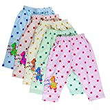 Littly Unisex Cotton Pyjama Bottom (Pack of 5)(10178_Multicolor_12-18 months)