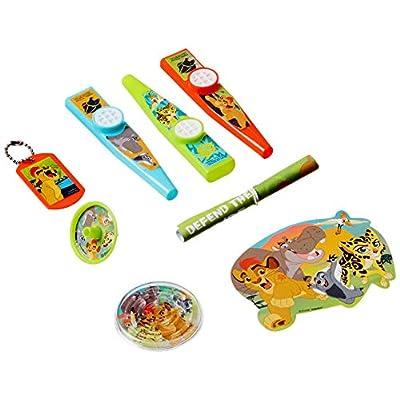 amscan Disney The Lion Guard Mega Mix Value Pack Favors, Party Favor: Toys & Games