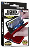 Jobar Aluminum Security Credit Card Wallet (Red), Bags Central
