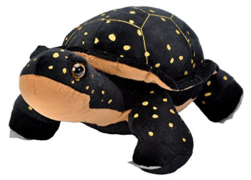 Wild Republic Spotted Turtle Plush, Stuffed Animal, Plush Toy, Gifts for Kids, Cuddlekins 12 inches