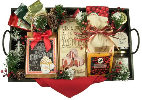 (Christmas Breakfast Gourmet Holiday Breakfast Gift Tray)