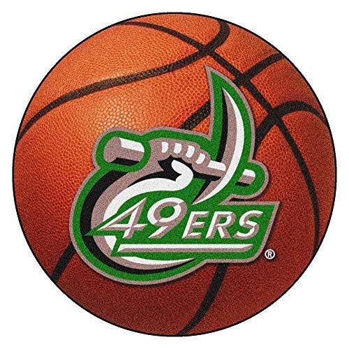 FANMATS NCAA UNC University of North Carolina - Charlotte 49ers Nylon Face Basketball Rug