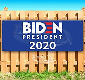 Biden 2020 13 oz Heavy Duty Vinyl Banner Sign with Metal Grommets Many Sizes Available Flag, Advertising New Store