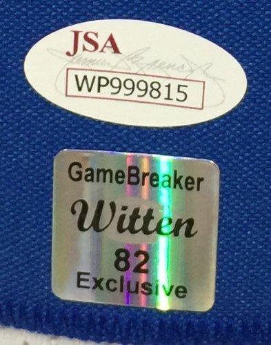 Jason Witten Signed Custom White Football Jersey JSA+Witten Holo Authentic Autograph