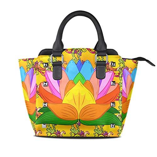 TIZORAX , Sac pour femme à porter à l'épaule multicolore Taille unique