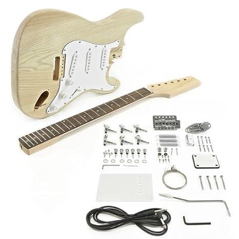 DIY Build Your Own - Guitarra eléctrica Stratocaster (sin pintar ...