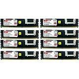 Komputerbay 4x 4GB 240 PIN DDR2 PC2-5300F 667MHz CL5 ECC Fully Buffered FB-DIMM 16 GB With Heatspreaders