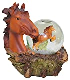 Shelburne Country Store Vermont Snowglobe Horse Head
