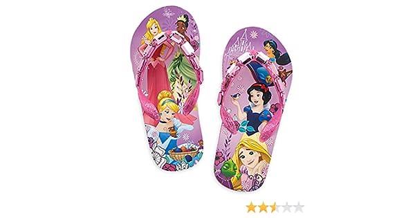 RRP £19.99 Slydes Womens Sliders Sandals Flip Flops Blue Unicorn Print