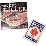 Packet Killer with Simon Lovell, Includes Special Bicycle Gaffed Deck - Card Magic Tricks by Magic Makers