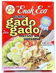 Enak Eco Bumbu Gado-Gado instant salad dressing 4 Pack x ea 200gr