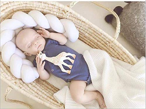 Ins Woven Long Knot Cushion Children Cotton Pillow Creative Nordic Simple Children's Room Bed Decoration (White, 3m) by Sportskindom (Image #3)
