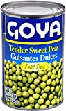 Goya Foods Tender Sweet Peas, 15-Ounce (Pack of 24)