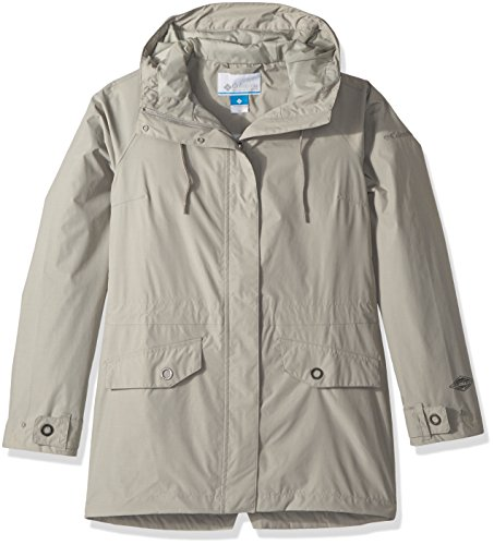 Columbia Women's Laurelhurst Park Jacket, Flint Grey Heather, Medium