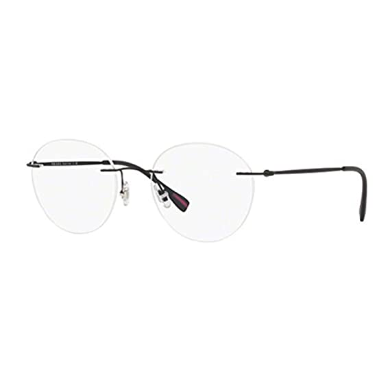 226a1751f5 Eyeglasses Prada Linea Rossa PS 52 IV DG01O1 BLACK RUBBER  Amazon.co.uk   Clothing