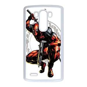 Deadpool Comic LG G3 Cell Phone Case White JT3858185389