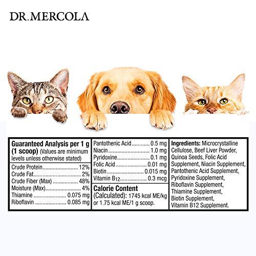 Picture of Dr. Mercola Vitamin B Complex for Pets - 2.1 OZ, 60g