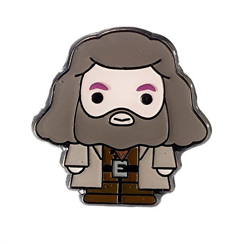 HARRY POTTER Official Licensed Jewelry Chibi Pin Badge (Rubeus Hagrid)