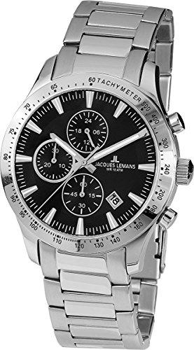 Jacques Lemans Nevada Chronograph Steel Men's Watch