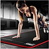 HLM- Yoga Mat Non Slip Textured Surfaces Thick High Density Padding to Avoid Sore Knees, Perfect for Yoga, Pilates and Fitness,