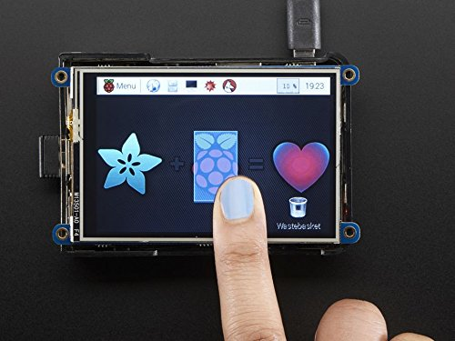 PiTFT Plus 480x320 3.5 TFT+Touchscreen for Raspberry Pi - Pi