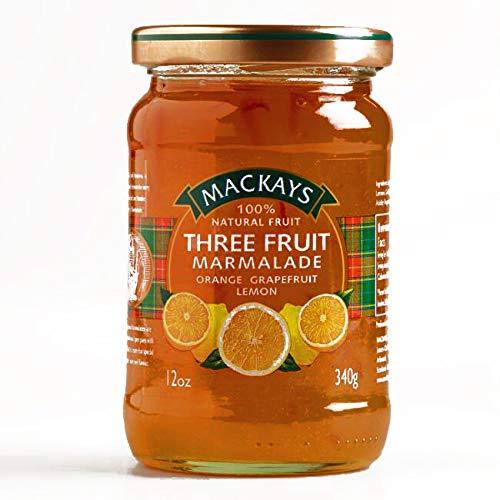Mackays Three Fruit Marmalade 12 oz each (2 Items Per Order, not per case) ()
