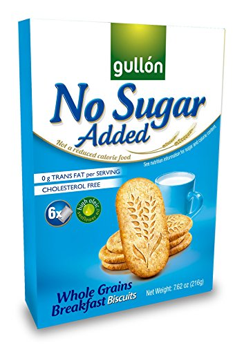 Gullon No Sugar Added Breakfast Biscuits with Whole Grains (216g)