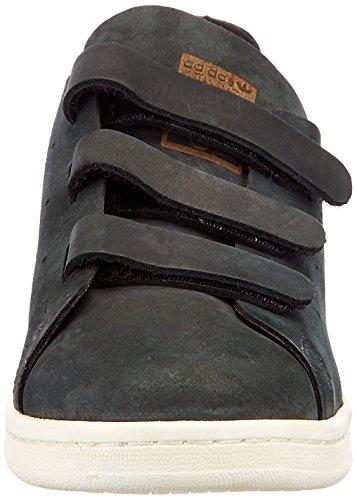 adidas Stan Smith OP CF W Basket Mode Femme Nero (Cblack/Cblack/Owhite)