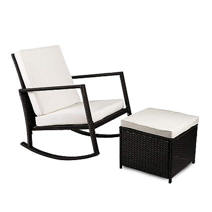 Amazon.com: Top Unikes – Juego de muebles de mimbre y ...
