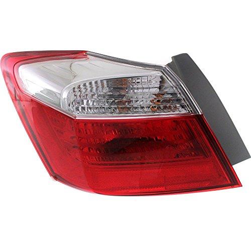 Tail Light for Honda Accord 13-15 Left Side Outer Assembly EX/LX/Sport Models Sedan