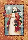 Folk Snowman – Toland Art Banner