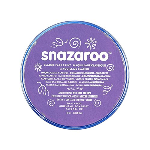 [Snazaroo Classic Face Paint, 18ml, Lilac] (Body Central Halloween Costumes)