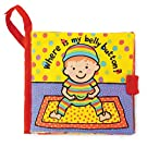 Jellycat Where is My Belly Button Book (Cloth Book)