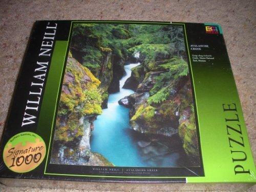 Buffalo Games William Neill Avalanche Creek Jigsaw Puzzle by Buffalo Games