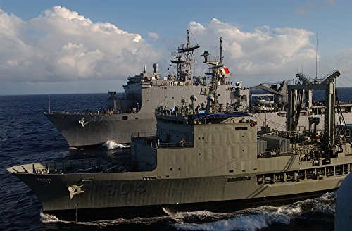 Home Comforts The Amphibious Dock Landing Ship USS Rushmore (LSD 47) The Australian Auxiliary Oiler ()