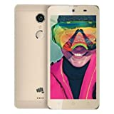 M.G.R.J Micromax Canvas Selfie 4 Q349 Tempered Glass Screen Protector with 0.3mm Ultra Slim 9H Harness, 2.5D Round Edge, Crystal Clear & Alcohol Swabs