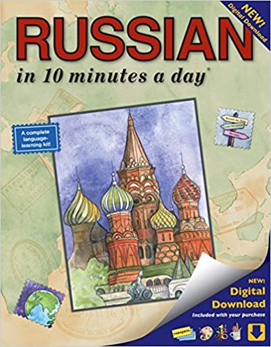 RUSSIAN in 10 minutes a day: Language course for beginning