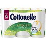 Cottonelle Toilet Paper Gentle Care With Aloe & E - 6 PK