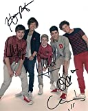 ONE DIRECTION (Niall Horan, Zayn Malik, Liam Payne, Harry Styles, Louis Tomlinson) 8x10 Music Photo Signed In-Person