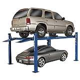 BendPak 4-Post Wide/Standard Lift, 9,000-Lb. Capacity, Blue, Model# HD-9