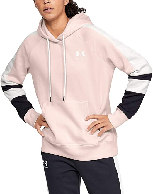 Under Armour Women's Rival Fleece LC Logo Novelty Hoodie