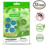 Comfort Road – Mosquito Repellent Patch 60 Count + 12 Patches Bonus Keeps Insects and Bugs Far Away, Simply Apply to Skin and Clothes , Adult, Kid-Friendly , Convenient For Travel, Outdoor and Camping