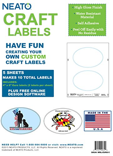 Neato Craft Labels – 4