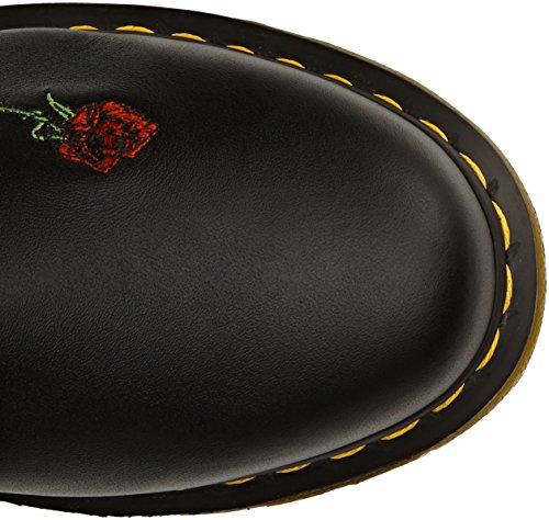 Dr. Martens VONDA Embroidery Black - Botas de agua Negro