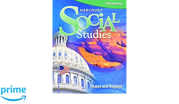 Harcourt social studies oklahoma student edition grade 4 states harcourt social studies oklahoma student edition grade 4 states regions 2008 harcourt school publishers 9780153485848 amazon books fandeluxe Gallery