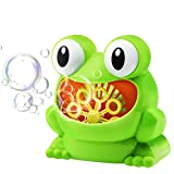 Bubble Machine Automatic - Frog Bubble Maker Toys for Baby Kids as Birthday Gift Party Favors