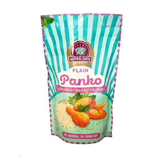 Panko Japanese Bread Crumbs Plain - Breadcrumbs for Cooking - Bread Crumbs Plain - Kosher Certified - 9 oz. (2-Pack)
