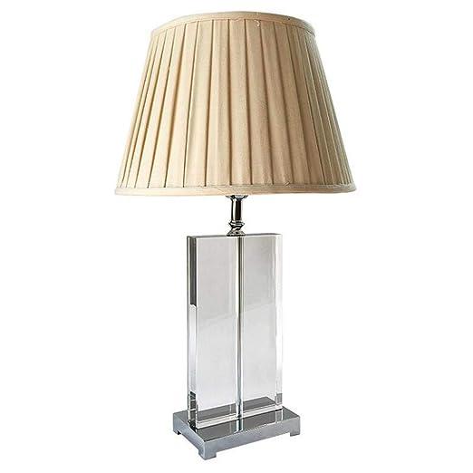 Lámpara de mesa de cristal, lámpara de escritorio minimalista ...