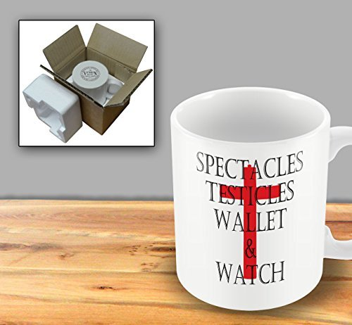 Spectacles Testicles Wallet & Watch by The Victorian Printing - Victorian Spectacles