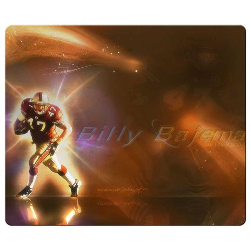 26x21cm / 10x8inch personal gaming mouse mats precise cloth + natural rubber Great Quality design St. Louis Rams nfl football logo - Louis Rams Rubber
